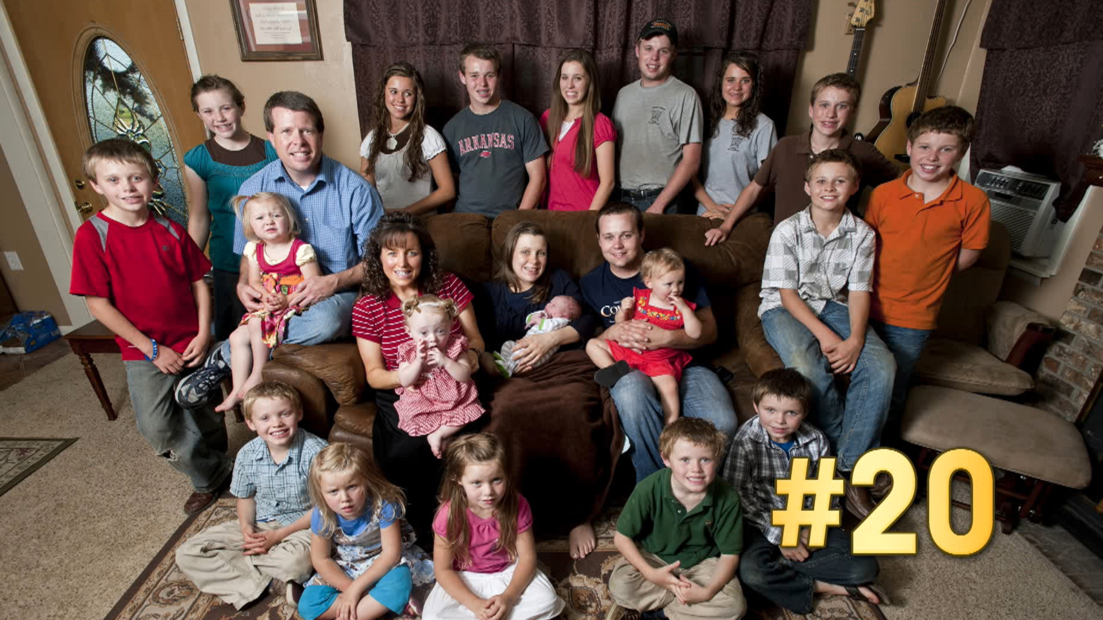On to the next one…Duggar's 20th baby