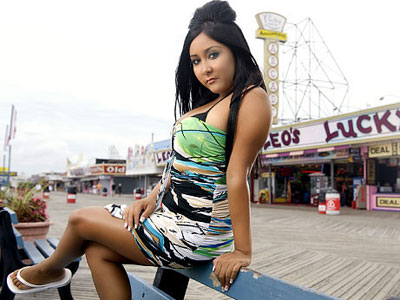 Image result for snooki drunk on beach